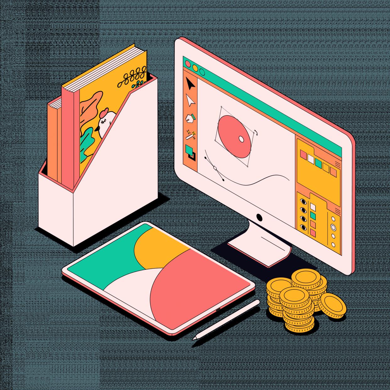 Коммерческий иллюстратор (5 курсов)