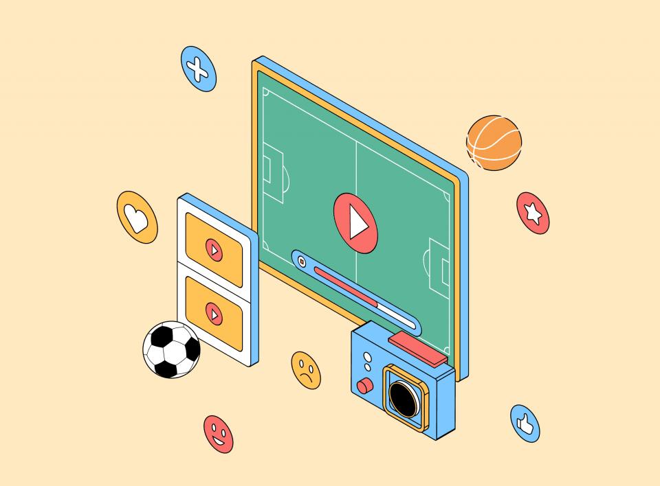 Как создавать спортивный контент