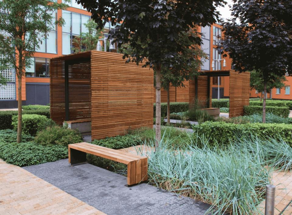 Ландшафтный дизайн общественных пространств