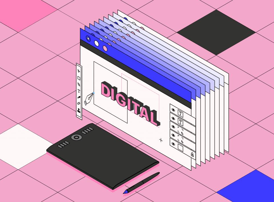 Дизайнер на фрилансе в Digital