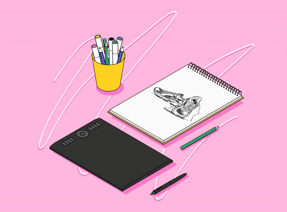 Скетчинг для дизайнеров