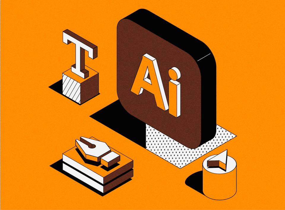 Adobe Illustrator снуля