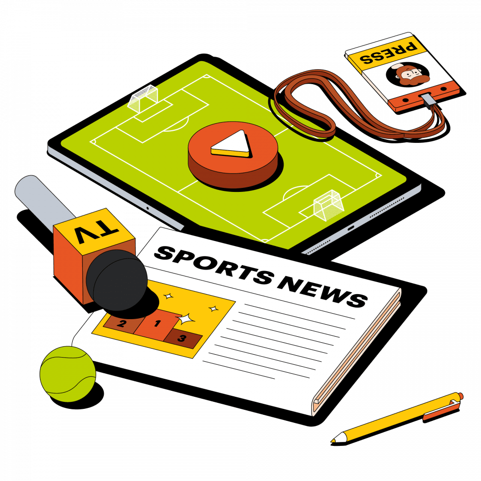 Спортивный журналист