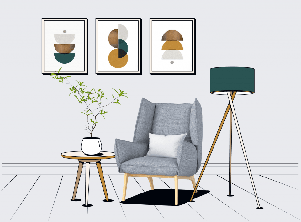 Декорирование в дизайне интерьера
