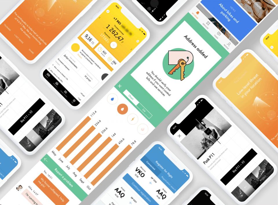 Дизайн мобильных приложений с нуля до PRO