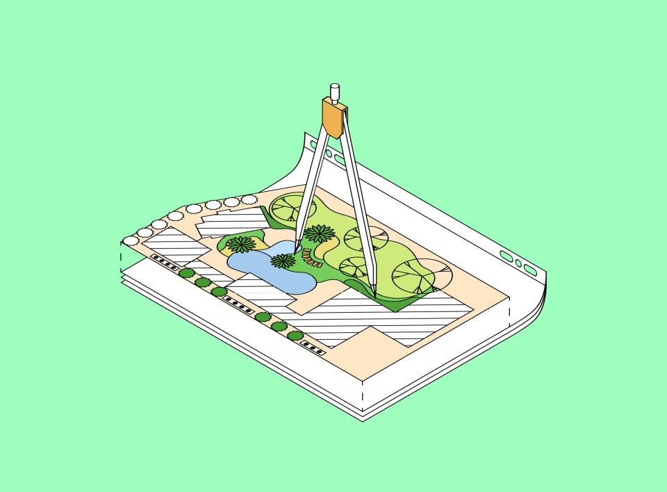 Ландшафтный дизайн с нуля