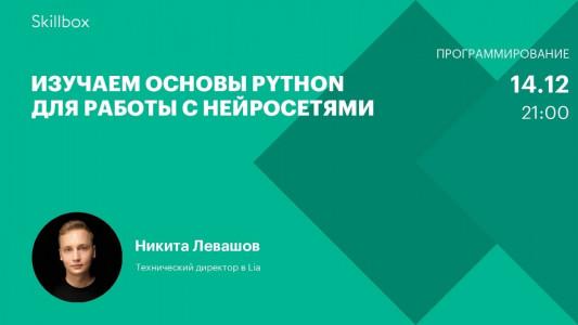 Изучаем основы Python для работы с нейросетями