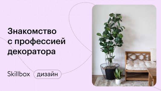 Знакомство с профессией дизайнера-декоратора
