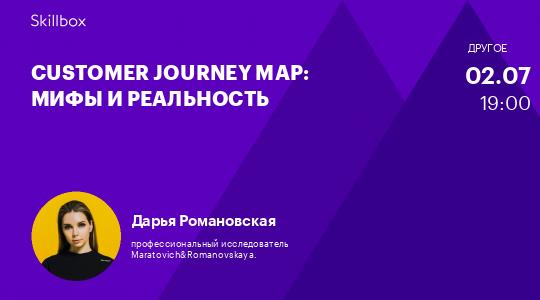 Customer Journey Map: мифы и реальность